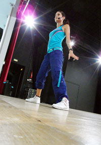 ludivine zumba instructor toulouse